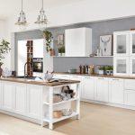Weiße Küche Interliving Kche Serie 3002 Mit Siemens Einbaugerten Rosa Wandtattoo L Kochinsel Spritzschutz Plexiglas Singleküche Servierwagen Komplette Küche Weiße Küche