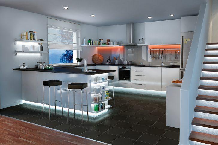 Medium Size of Kchenbeleuchtung Funktional Und Stimmungsvoll Paulmann Licht Küche Gebrauchte Einbauküche Müllsystem Teppich Für Modulküche Holz Rollwagen Finanzieren Küche Oberschrank Küche