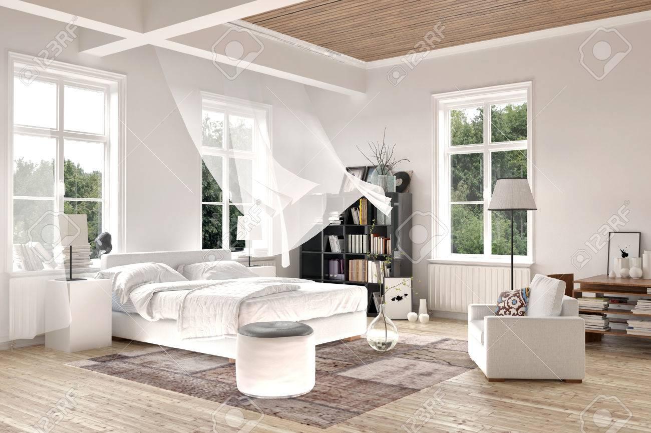 Full Size of Helle Weie Luxus Gemacht Schlafzimmer Interieur Mit Blasen Komplette Stuhl Wandlampe Eckschrank Für Set Boxspringbett Romantische Komplett Weiß Vorhänge Schlafzimmer Vorhänge Schlafzimmer