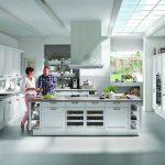 Jalousieschrank Küche Offene Kchen Modernen Wohnkchen Von Kcheco Komplettküche Selbst Zusammenstellen Salamander Miele Landhausküche Gebraucht Erweitern Küche Jalousieschrank Küche