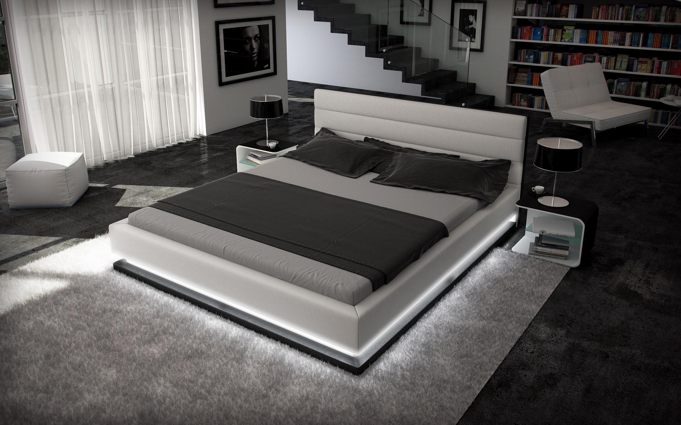 Full Size of Luxus Bett Design Moonlight Im Komplettset Mit Licht 7 Zonen Matratze Paradies Betten Bopita 2x2m King Size 160x200 Ottoversand Ruf Preise Inkontinenzeinlagen Bett Luxus Bett