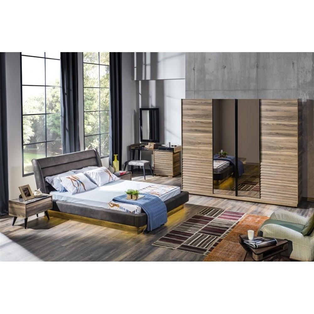 Full Size of Schlafzimmer Yildiz Mae Bettgre 160 200 Cm Luxus Dusche Komplett Set Landhausstil Weiss Deckenlampe Kronleuchter Deckenleuchte Sessel Komplettangebote Sitzbank Schlafzimmer Schlafzimmer Set
