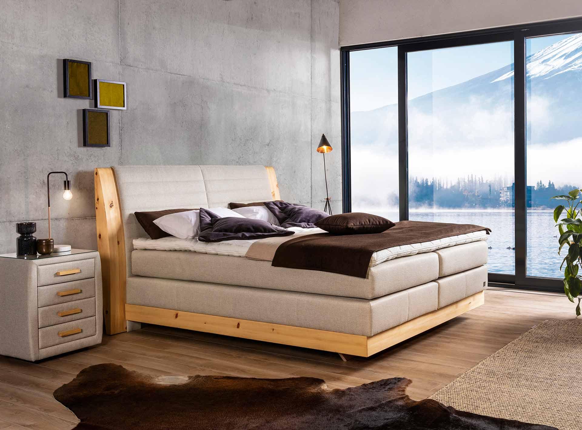 Full Size of Bett Mit Aufbewahrung Selber Bauen 140x200 Ikea Malm Lattenrost 90x200 200x200 100x200 Aufbau 180x200 Hochwertige Und Stilvolle Betten Aus Sterreich Bett Bett Mit Aufbewahrung