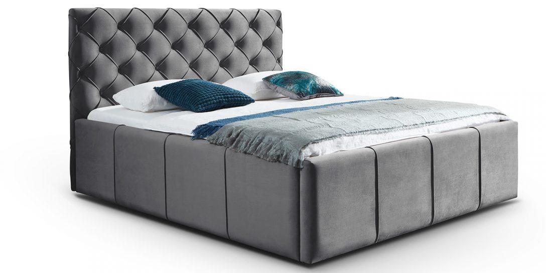Large Size of Betten Mit Aufbewahrung Bett Bettkasten Xxl Stauraum In Samtstoff Nelly Günstig Kaufen Matratze Und Lattenrost Esstisch 4 Stühlen Einbauküche Bett Betten Mit Aufbewahrung