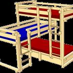 Kinder Betten Bett Etagenbett Fr Drei Online Kaufen Billi Bolli Betten Massivholz Runde Schramm Kinderspielhaus Garten Rauch 140x200 Günstige überlänge Konzentrationsschwäche