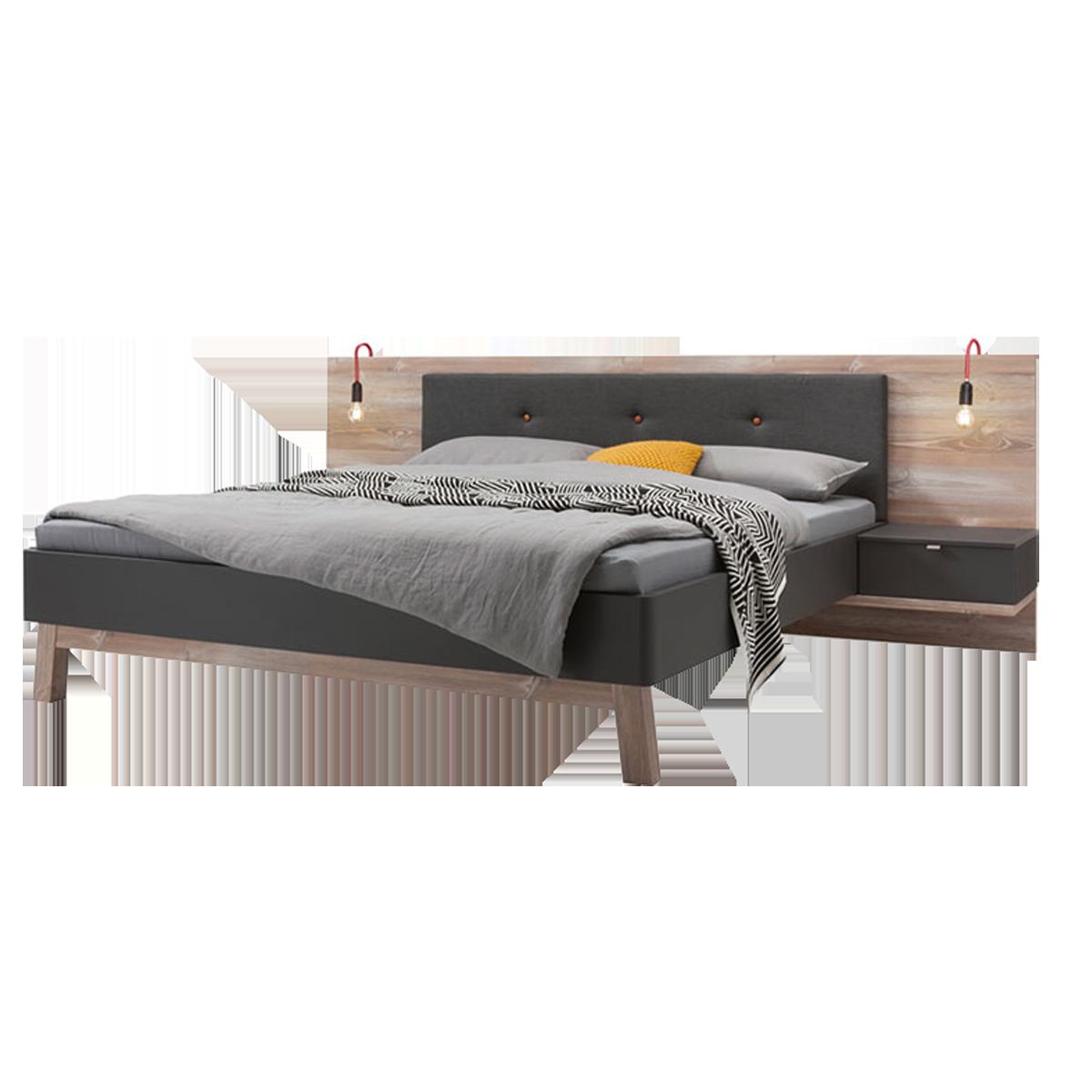 Full Size of Nolte Betten Mbel Cepina Bettanlage 1ausfhrung In Basalt Und Picea Pine Paradies 100x200 160x200 Massivholz Ikea Gebrauchte Französische Schlafzimmer Meise Bett Nolte Betten