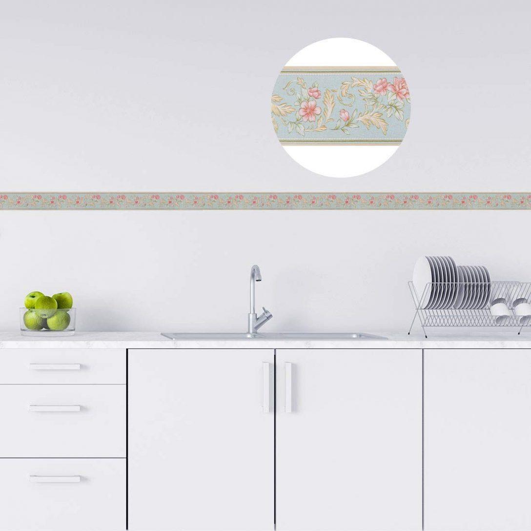 Large Size of Sourcing Map 3d Wand Papier Grenze Selbstklebend Wandbelag Pvc Grifflose Küche Modulküche Holz Bodenbelag Led Deckenleuchte Gardinen Für Die Weiß Matt Küche Wandbelag Küche