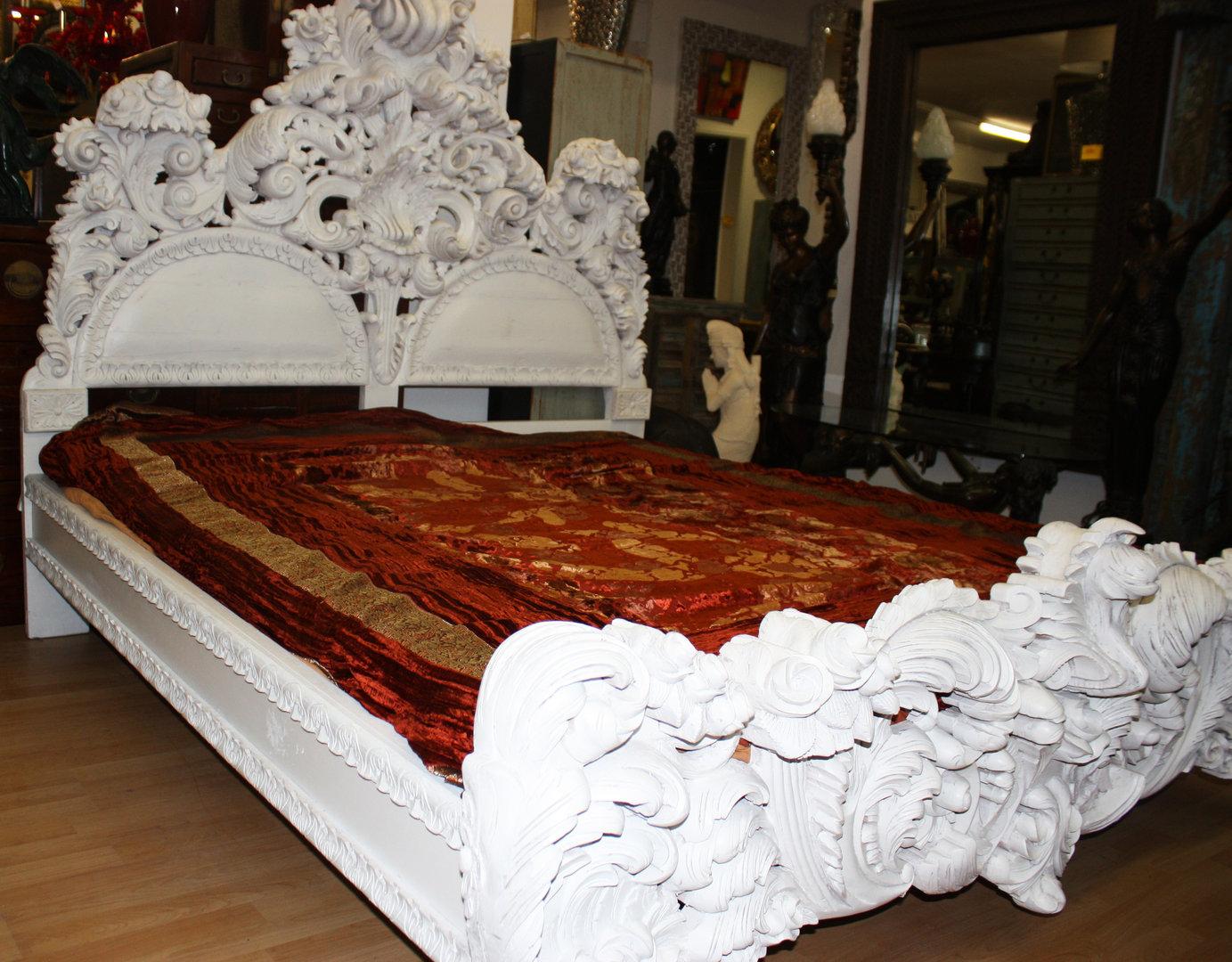 Full Size of 862 Bett Barock Wei Schwarzer Elefant 200x200 Weiß Mit Schubladen 90x200 Jugendzimmer Hülsta Betten Poco Einfaches Einzelbett Eiche Gebrauchte Rückenlehne Bett Barock Bett