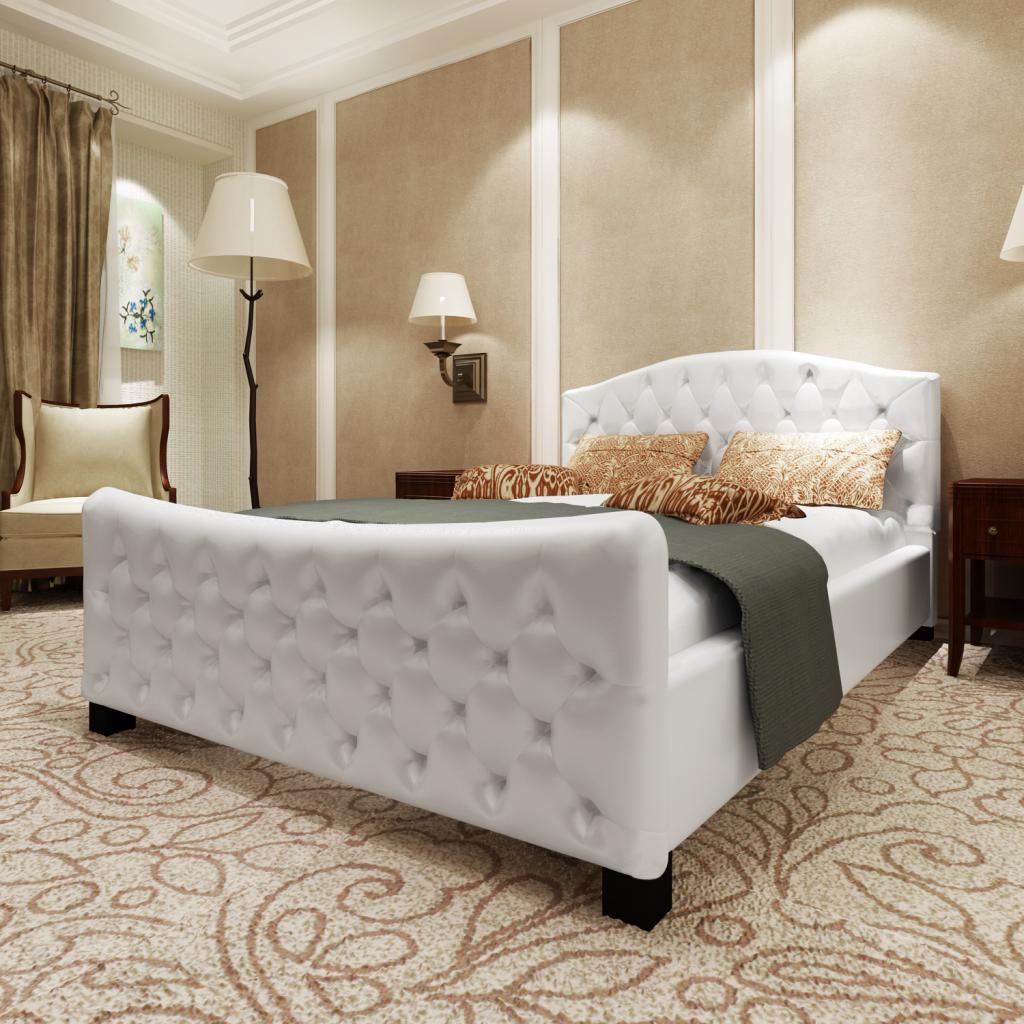 Full Size of Luxus Kunstlederbett Bett 180 Cm Wei Matratze Lattenrost 180x200 Komplett Mit Und Leander Bette Duschwanne 120 X 200 100x200 Betten Berlin De Kaufen Günstig Bett Luxus Bett