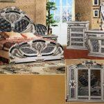 Bett Schrank Barock Schlafzimmer Komplett Set Atris 24 Weiß 180x200 Landhaus Wohnzimmer Hängeschrank Küche Höhe Schwarz Betten Bei Ikea Mit Rückenlehne Bett Bett Schrank