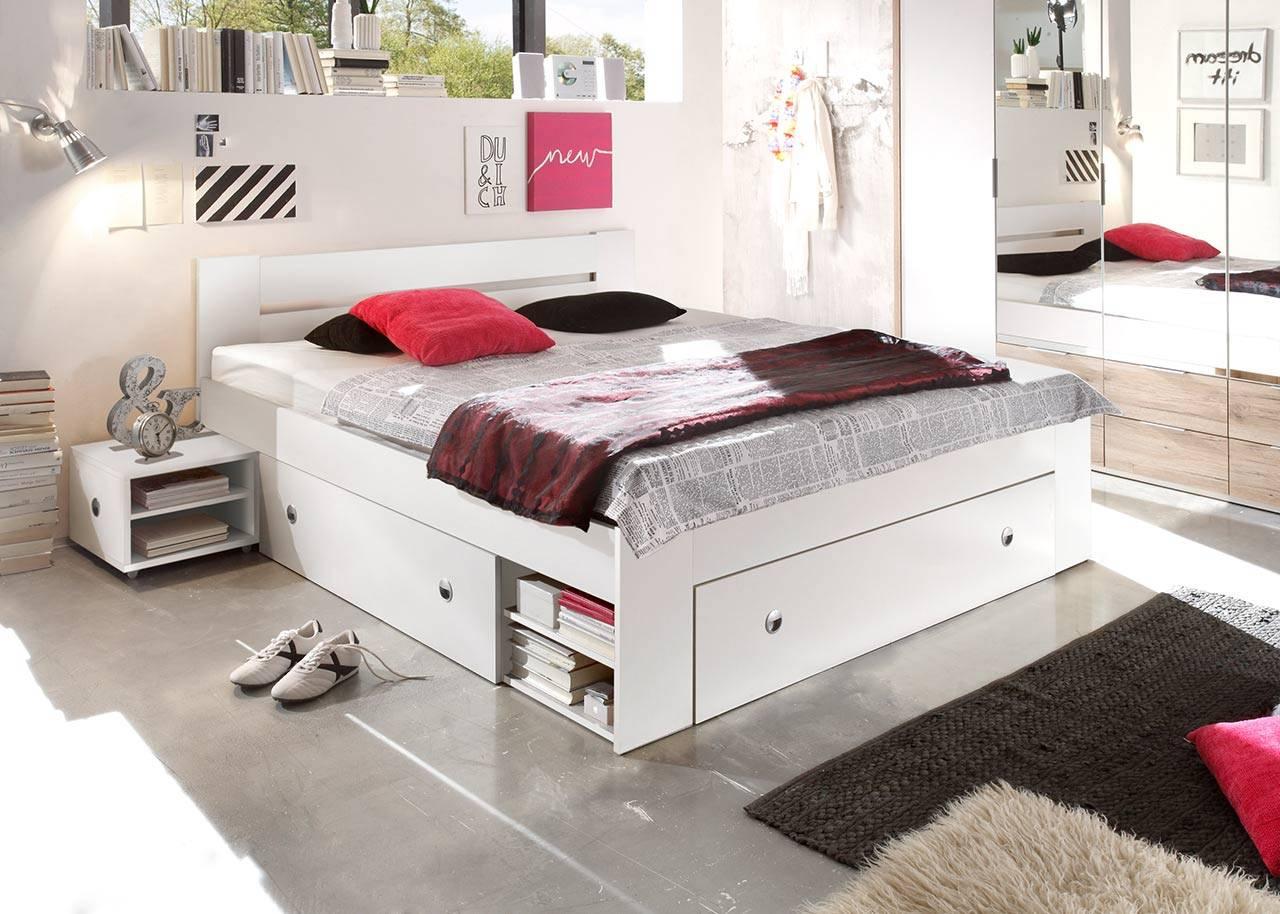 Full Size of Bett Mit Nachtschrnken 140 200 Cm Wei Gnstig Online Kaufen Luxus Hunde Ohne Füße Flexa Möbel Boss Betten 160x200 Günstig 180x200 Konfigurieren Kleinkind Bett Bett Günstig