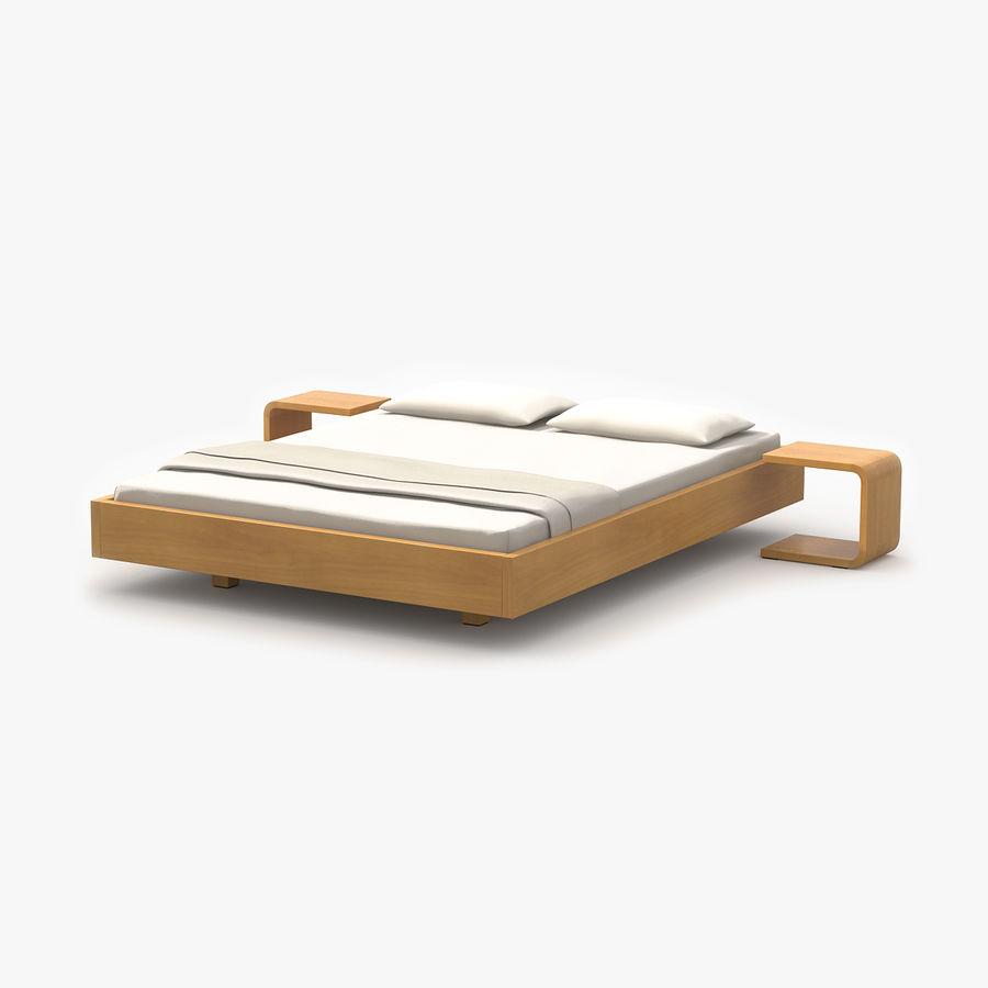 Full Size of Einfaches Bett Eiche 3d Modell 4 Mafb3ds 120 X 200 Schwarzes Betten Für übergewichtige Komforthöhe Im Schrank Krankenhaus Boxspring Günstig Metall Modernes Bett Einfaches Bett