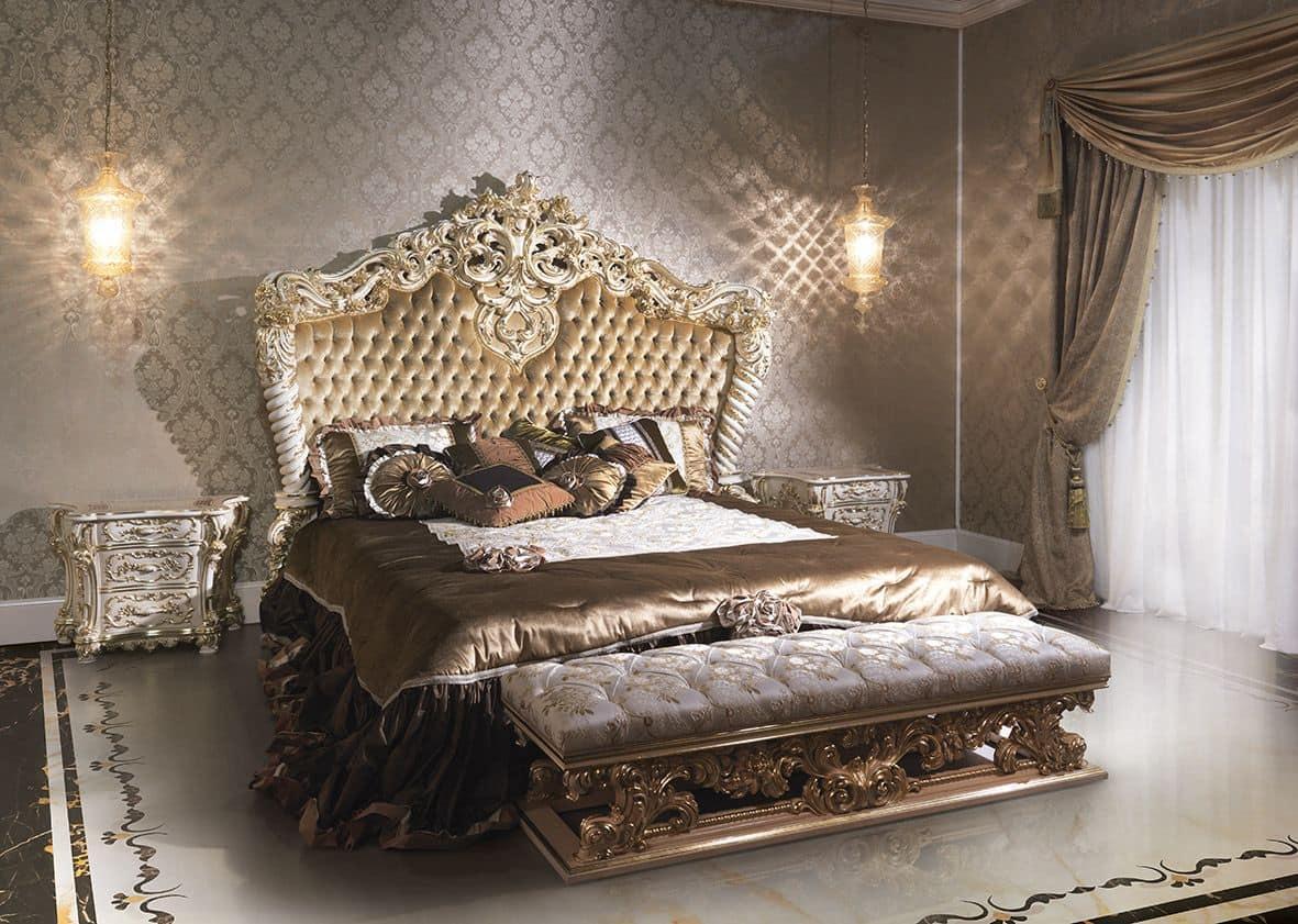 Full Size of Luxus Bett Im Klassischen Stil Fr Hotels Betten Kaufen 140x200 Bette Badewannen Kopfteil Für Sitzbank 200x200 Komforthöhe Ausziehbar Landhaus 140 190x90 Bett Luxus Bett