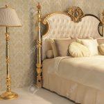 Stehlampe Schlafzimmer Schlafzimmer Luxurises Bett Mit Kissen Und Stehlampe In Knigliche Komplett Schlafzimmer Günstig Fototapete Komplette Schranksysteme Wandleuchte Wandtattoos Poco Landhaus