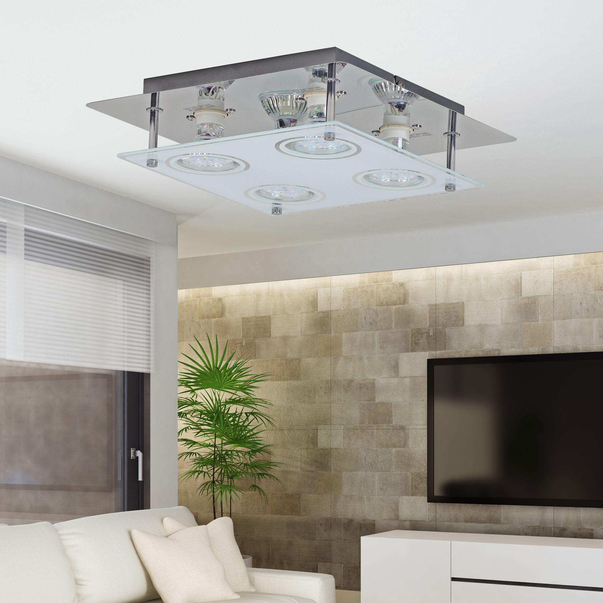 Full Size of Lampe Schlafzimmer Quadratische Led Deckenleuchte Wohnzimmer Lampen Küche Luxus Wandlampe Badezimmer Rauch Günstige Komplett Deko Truhe Wandleuchte Schlafzimmer Lampe Schlafzimmer