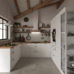 Landhauskche Eisath Kchenplanung Visualisierung Moderne Landhausküche Grau Weisse Gebraucht Weiß Küche Landhausküche