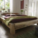 Bett 200x220 Echtholz Balkenbett Unikat Mit Natrlichen Wuchsrissen überlänge Betten De Paletten 140x200 Kopfteile Für 1 40 200x180 Schubladen 180x200 Bett Bett 200x220