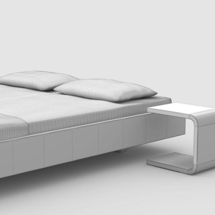 Medium Size of Einfaches Bett Eiche 3d Modell 4 Mafb3ds Einzelbett Ebay Betten 180x200 120 Cm Breit Landhausstil Stauraum Außergewöhnliche Coole Boxspring Hohes Kopfteil Bett Einfaches Bett