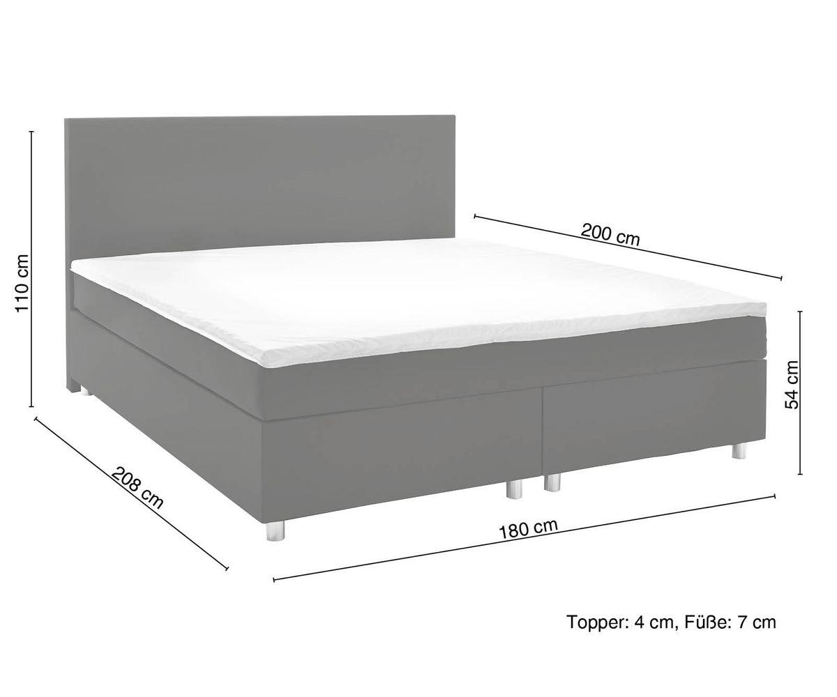 Full Size of Bett Mit Matratze Cloud Braun 180x200 Cm Kingsize Topper Federkern Betten 140x200 140 überlänge Bettkasten Tagesdecke Kaufen Krankenhaus Stauraum 160x200 Bett Bett Mit Matratze