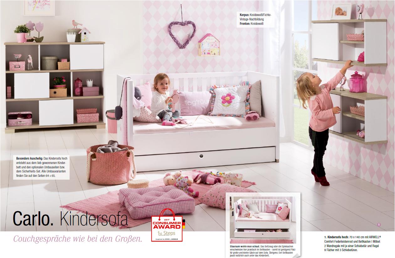 Full Size of Kinder Bett Paidi Kinderbett Carlo 1137081 Babymbel Kinderzimmer Weiß 120x200 Tempur Betten 140x200 Nussbaum 180x200 Mit Gästebett Weißes überlänge Bett Kinder Bett