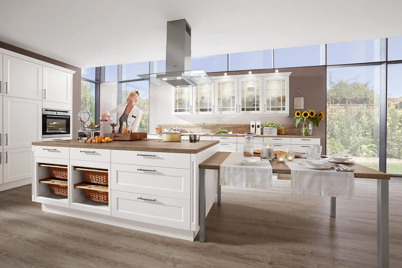 Full Size of Landhausküche Gebraucht Moderne Grau Weiß Weisse Küche Landhausküche