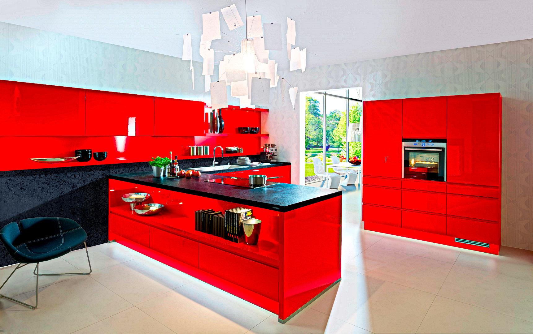 Full Size of Rote Kche Gnstig Kaufen Kchen 300 Sofort Lieferbar Komplettküche Einbauküche Weiss Hochglanz Doppelblock Küche Oberschrank Deckenlampe Unterschränke Küche Küche Billig Kaufen