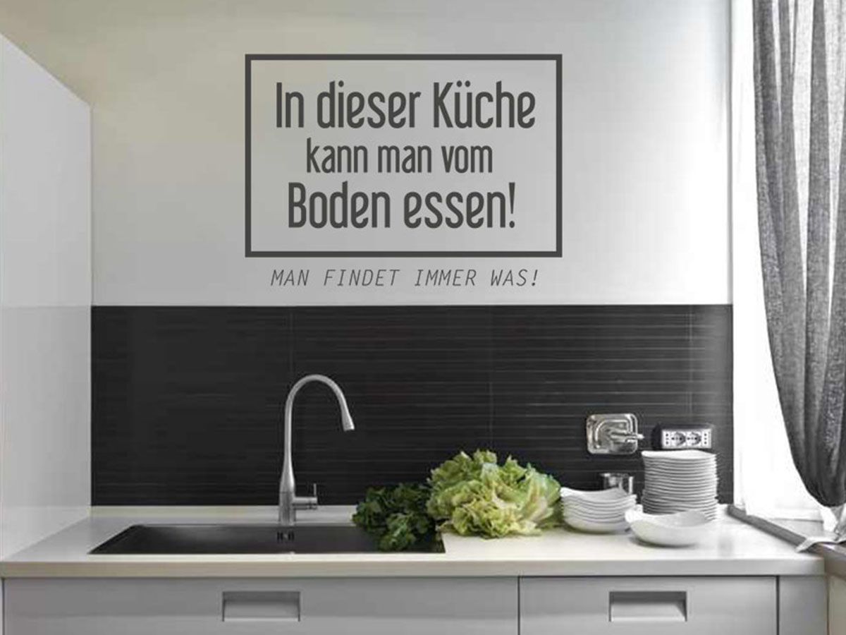 Full Size of Wandsticker Küche Aufbewahrung Hängeschrank Höhe Eckunterschrank Wandbelag Ohne Hängeschränke Apothekerschrank Ikea Kosten Tapeten Für Die Was Kostet Küche Wandsticker Küche