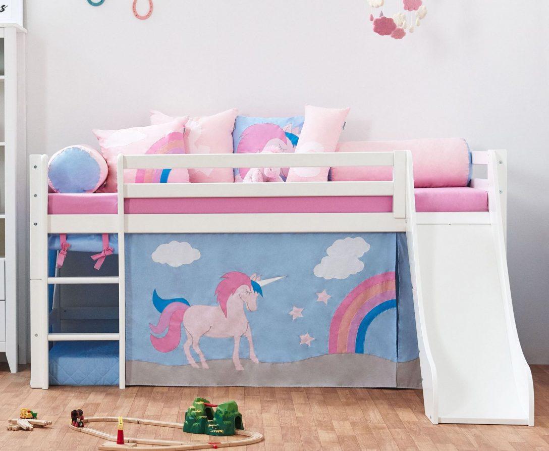 Large Size of Kinder Bett Halbhohes Kinderbett In Kiefer Wei Z B Mit Rutsche Einhorn Günstig Matratze Bettkasten Grau 140 X 200 Ruf Betten Für übergewichtige Tagesdecken Bett Kinder Bett