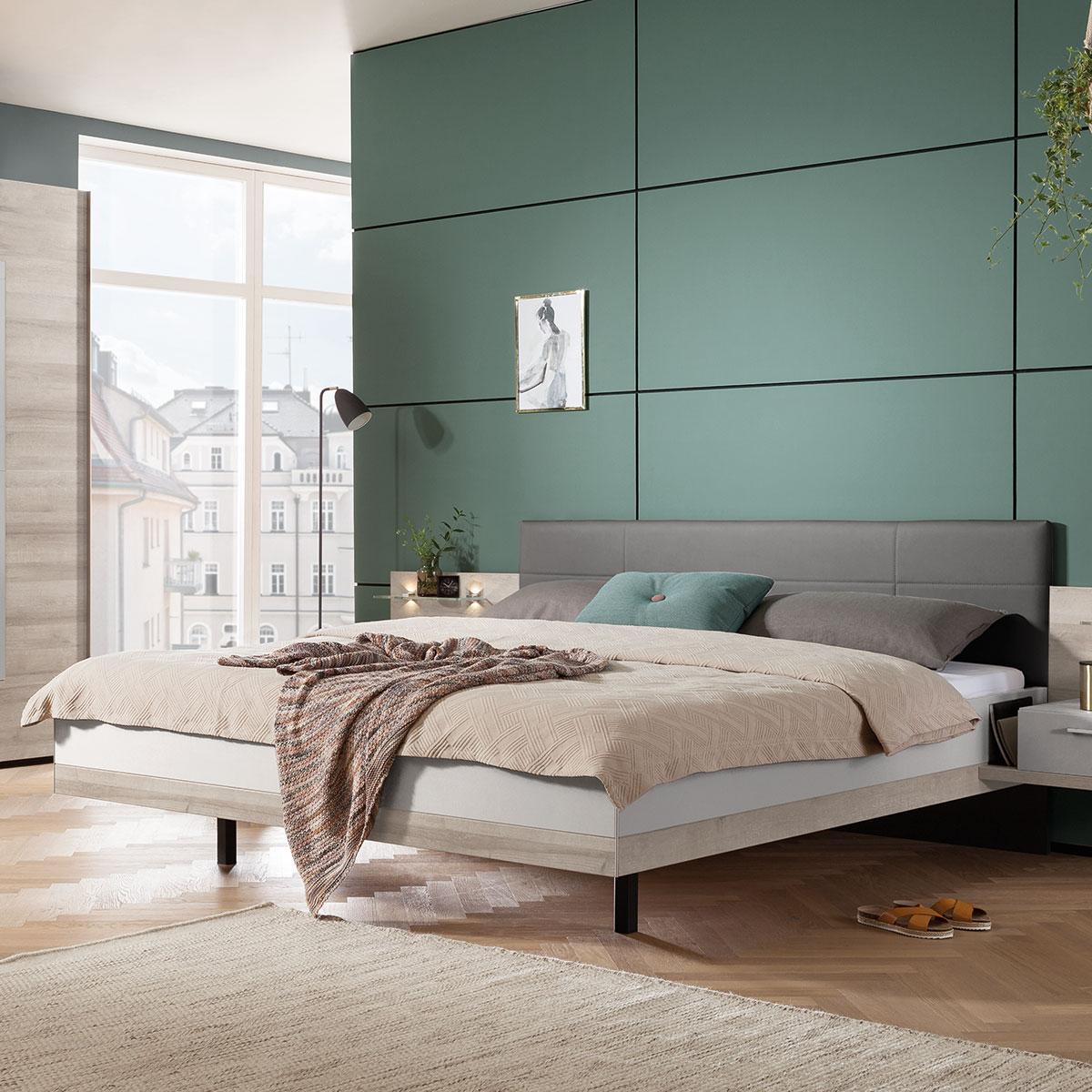 Full Size of Nolte Betten Doppelbett Novara In Grau Von Mbel Mit Schubladen Schöne Massivholz Designer Paradies 160x200 Somnus Massiv Outlet Bett Nolte Betten