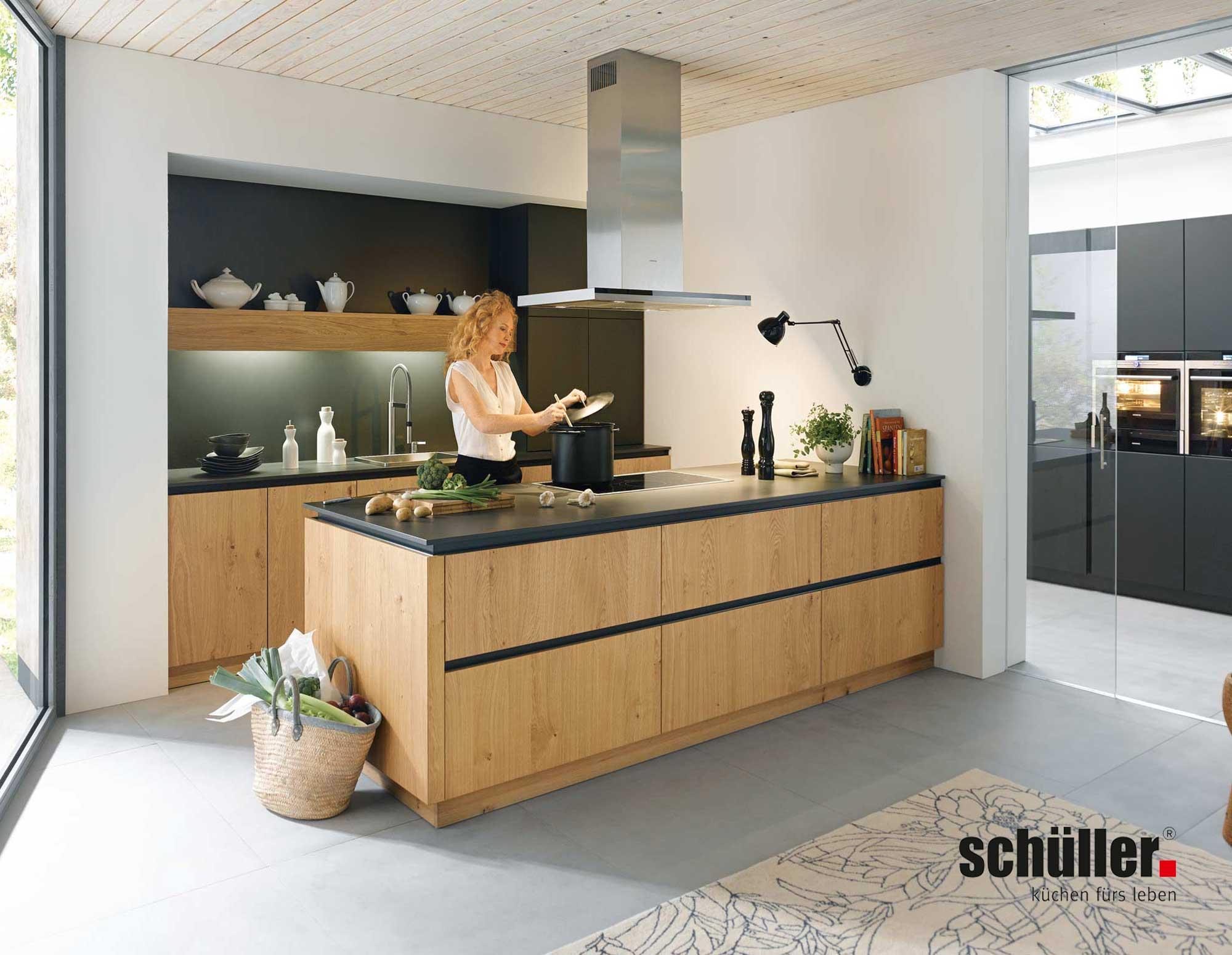 Full Size of Inselküche Abverkauf Schller Kche Rocca Im Puristischen Design Jetzt Online Stbern Bad Küche Inselküche Abverkauf