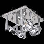 Schlafzimmer Deckenlampe Schlafzimmer Schlafzimmer Deckenlampe Deckenlampen Ideen Deckenleuchte Led Dimmbar Obi Modern Amazon Ikea Design Ultraslim Wohnzimmer Ip44 Landhausstil Lampe Wohnling 4