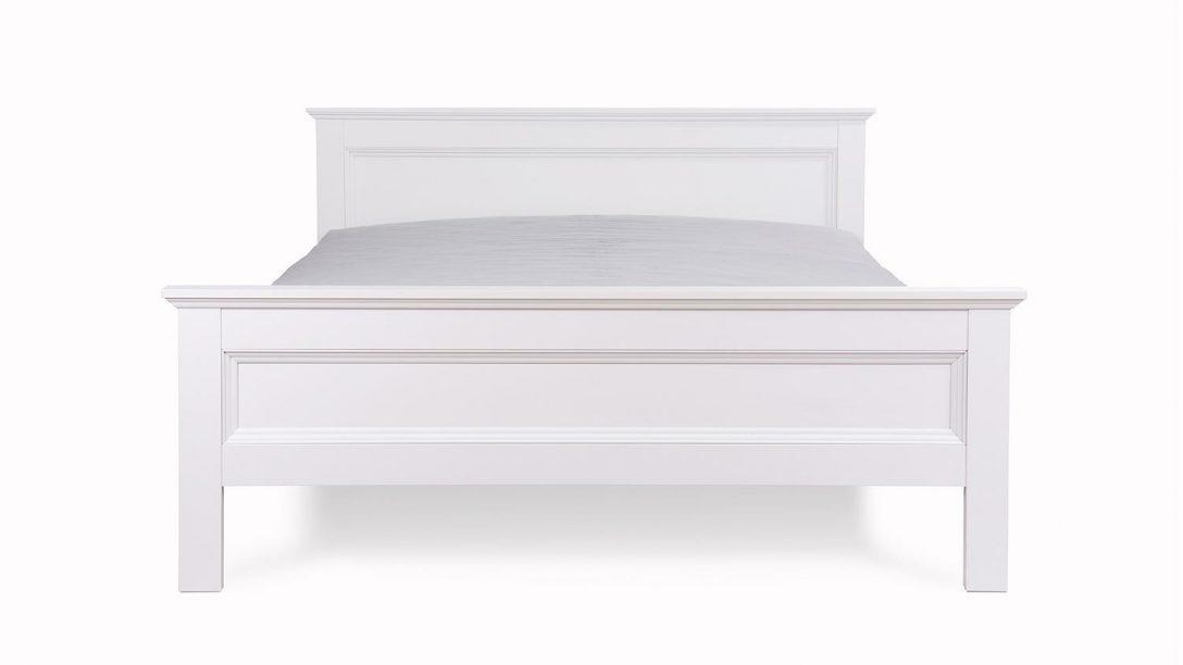 Large Size of Weiße Betten Bett Landwood Bettgestell In Wei Mit Kopfteil 140x200 Cm Landhausstil Französische Ikea 160x200 Gebrauchte Teenager Weißes Köln Kinder Holz Bett Weiße Betten