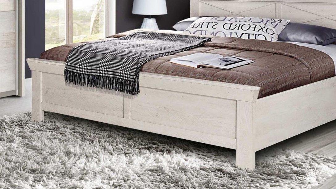 Large Size of Bett Kashmir Schlafzimmerbett In Pinie Wei 180x200 Cm Weiss Mit Rückenlehne Aufbewahrung Balken Schrank Weißes 140x200 100x200 Bette Badewannen Betten Bett Bett Weiß 180x200