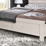 Bett Weiß 180x200 Bett Bett Kashmir Schlafzimmerbett In Pinie Wei 180x200 Cm Weiss Mit Rückenlehne Aufbewahrung Balken Schrank Weißes 140x200 100x200 Bette Badewannen Betten