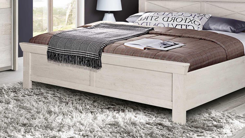 Full Size of Bett Kashmir Schlafzimmerbett In Pinie Wei 180x200 Cm Weiss Mit Rückenlehne Aufbewahrung Balken Schrank Weißes 140x200 100x200 Bette Badewannen Betten Bett Bett Weiß 180x200