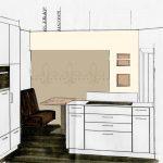 Fototapete Küche Küche Individuellefototapeten Malerbetrieb Raumdesign Ewering Alno Küche Wasserhahn L Form Miniküche Mit Kühlschrank Led Deckenleuchte Magnettafel Theke Weiß