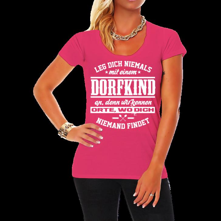 Medium Size of Lustige T Shirt Sprüche Frauen Damen T Shirt Dorfkind Spruch Fun Spa Lustig Witzig Wandtattoos Junggesellinnenabschied Wandtattoo Jutebeutel Coole Küche Lustige T Shirt Sprüche