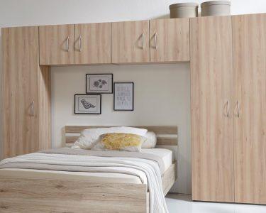 Schlafzimmer Mit überbau Schlafzimmer Schlafzimmer Mit überbau Bettberbau Mrk Berbauschrank In Eiche Sgerau Sitzbank Betten Matratze Und Lattenrost 140x200 Kommode Eckschrank Badezimmer