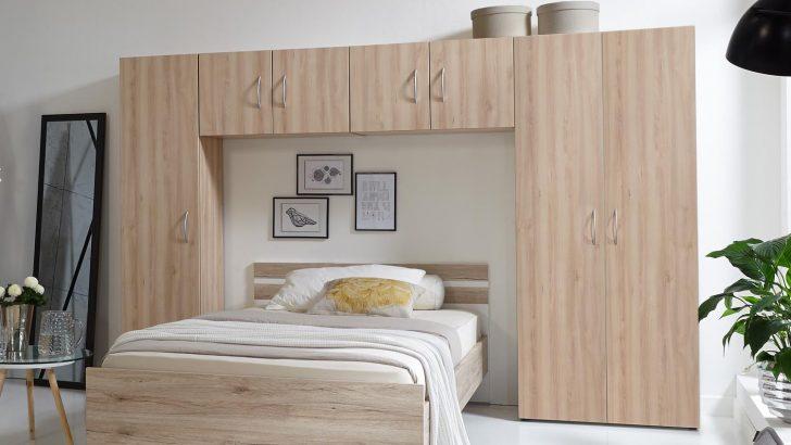 Medium Size of Schlafzimmer Mit überbau Bettberbau Mrk Berbauschrank In Eiche Sgerau Sitzbank Betten Matratze Und Lattenrost 140x200 Kommode Eckschrank Badezimmer Schlafzimmer Schlafzimmer Mit überbau