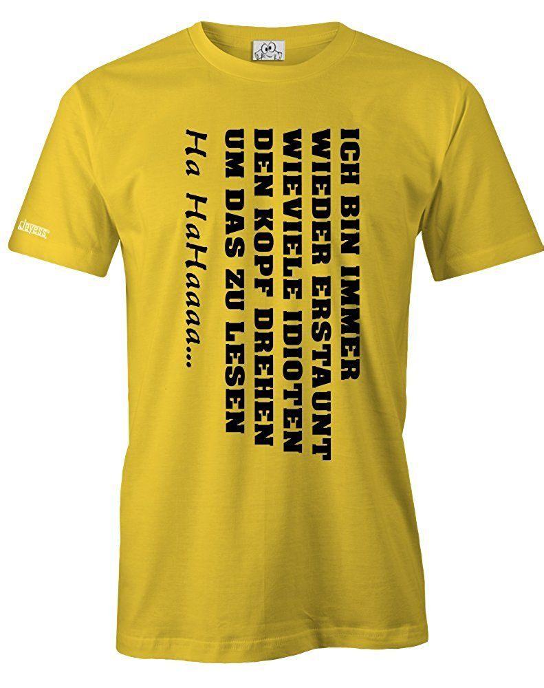 Full Size of Ich Bin Immer Wieder Erstaunt Herren T Shirt Lustige Sprüche Wandtattoo Junggesellinnenabschied T Shirt Bettwäsche Männer Wandtattoos Coole Für Die Küche Küche Lustige T Shirt Sprüche