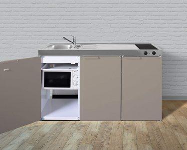Stengel Miniküche Küche Stengel Miniküche Minikche Pantrykche Single Kche 150cm Beige Metall Ikea Mit Kühlschrank