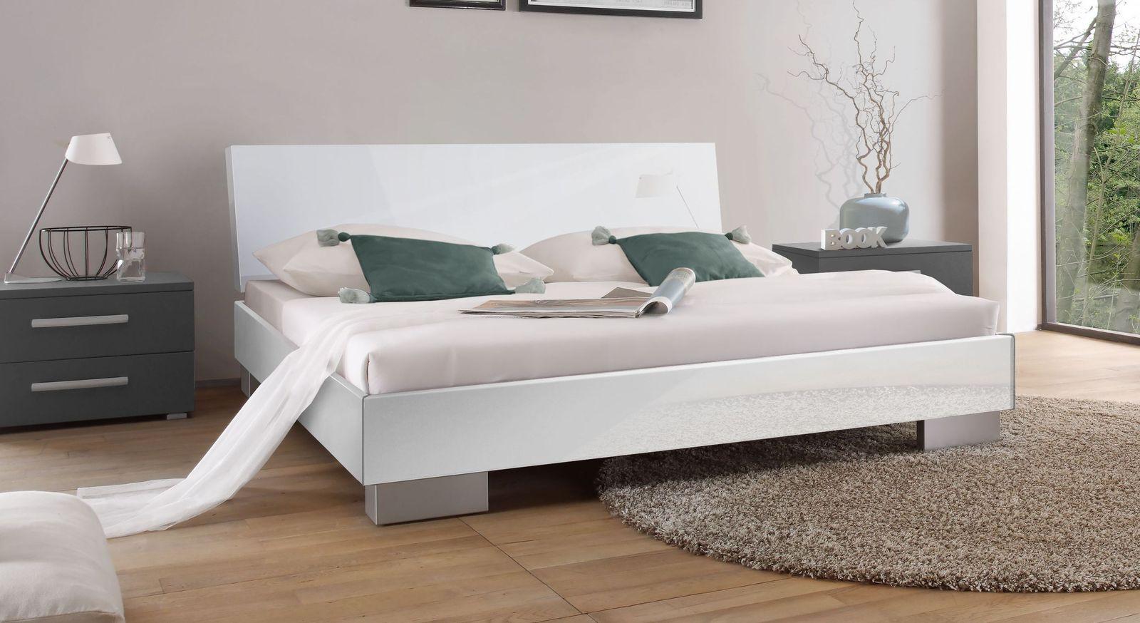 Full Size of Designer Betten Bett In Hochglanz Wei Piceno Bettende 200x220 Japanische Günstig Kaufen Düsseldorf 140x200 Mannheim Rauch Somnus Bonprix 160x200 Ebay Bett Designer Betten