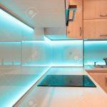 Led Beleuchtung Küche Küche Led Beleuchtung Küche Luxus Kche Mit Blauer Lizenzfreie Fotos Küchen Regal Spiegel Bad Einbaustrahler Weisse Landhausküche Kaufen Günstig Landhausstil