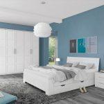 Schlafzimmer Komplett Weiß Set A Samoa Gardinen Für Deckenleuchte Sessel Guenstig Kommode Mit Boxspringbett Landhaus Regal Kinderzimmer Wandbilder Bad Schlafzimmer Schlafzimmer Komplett Weiß