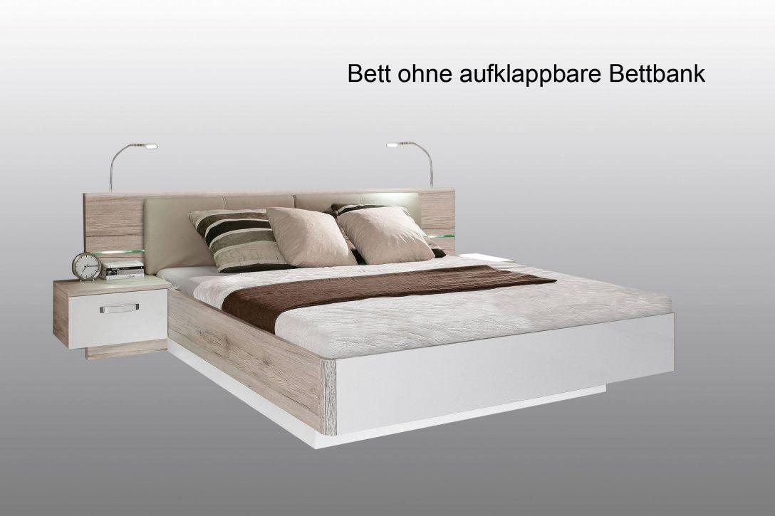 Large Size of Weißes Bett 160x200 Rondino Von Forte Beton Optik Hochglanz Wei Mbel Letz 140x200 Günstig Flexa Betten Für Teenager Amerikanisches Massiv 180x200 Baza Bett Weißes Bett 160x200