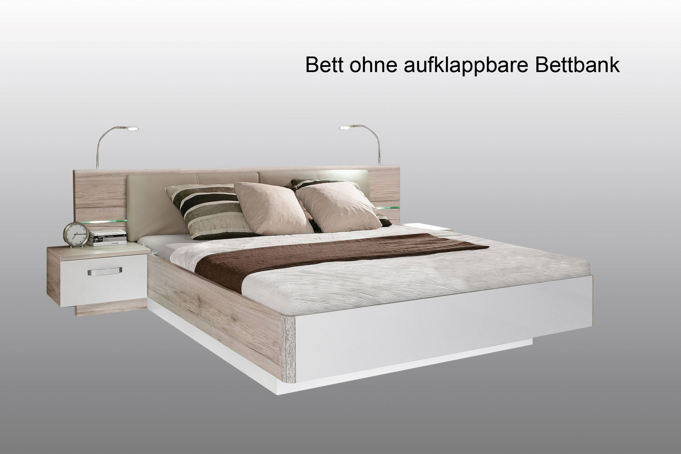 Full Size of Weißes Bett 160x200 Rondino Von Forte Beton Optik Hochglanz Wei Mbel Letz 140x200 Günstig Flexa Betten Für Teenager Amerikanisches Massiv 180x200 Baza Bett Weißes Bett 160x200