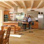 Vollholzküche Holzkche Küche Vollholzküche
