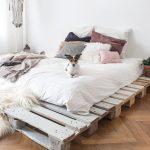 Bett Aus Paletten Kaufen Bett Bett Aus Paletten Kaufen 140x200 Mit Lattenrost Europaletten Gebraucht Dein Eigenes Palettenbett In Wenigen Schritten Selbstgebaut Schlafzimmer Betten