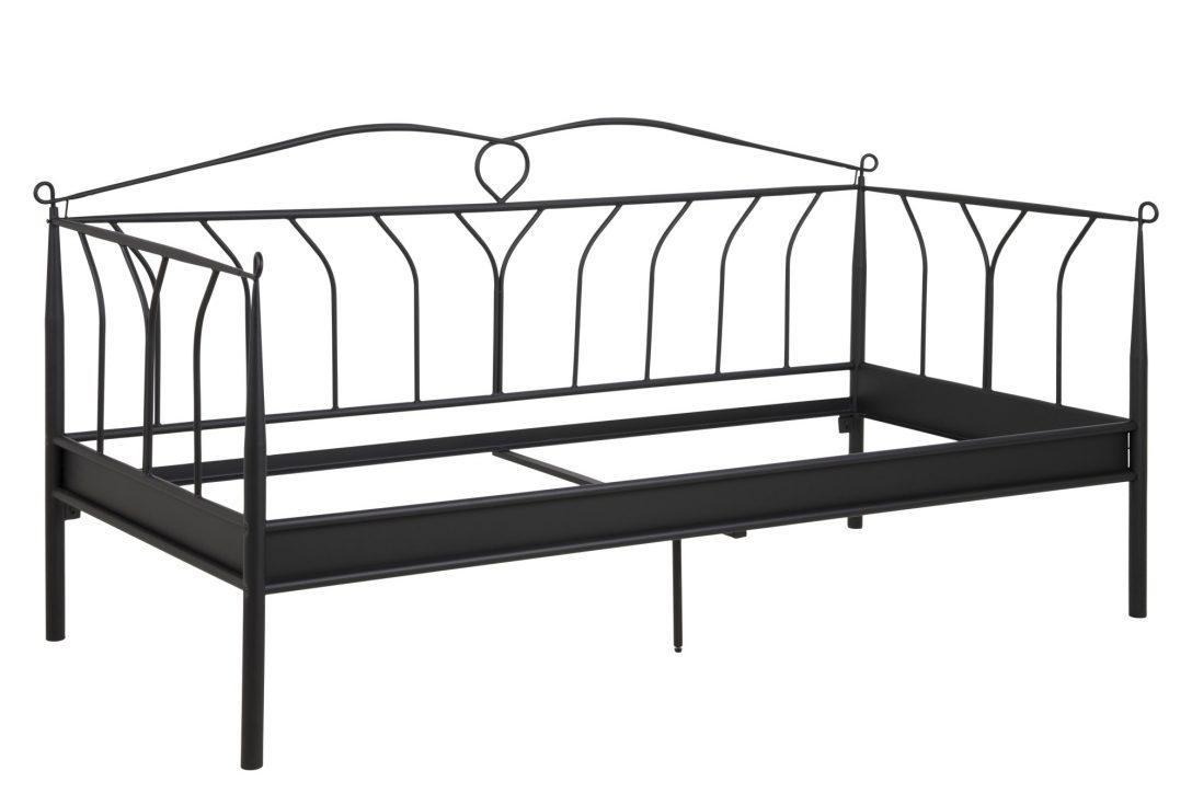 Large Size of Metall Bett Lissy 200x90 Schwarz Bettgestell Ehebett Schlafzimmer Cars 90x200 Mit Lattenrost Stabiles Jugendzimmer Regale 2x2m Landhaus 160x200 Und Matratze Bett Bett Metall