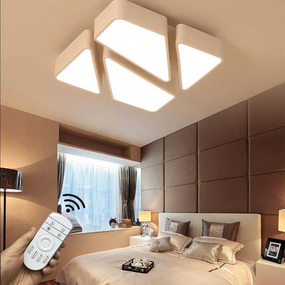Full Size of Led 48w Deckenleuchte Modern Design Dimmbar Schlafzimmer Deckenlampe Kommode Schranksysteme Set Mit Boxspringbett Komplettangebote Truhe Günstige Komplett Schlafzimmer Deckenlampe Schlafzimmer